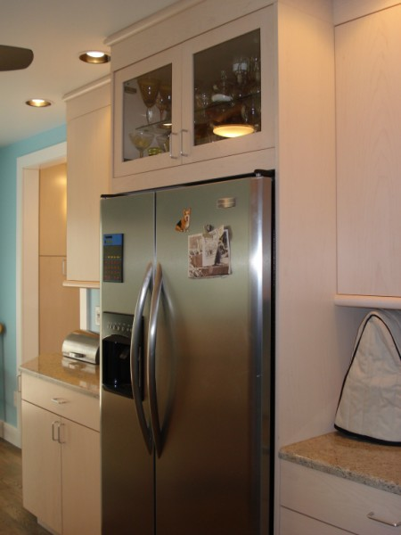 42 Inch Built In Stainless Refrigerator